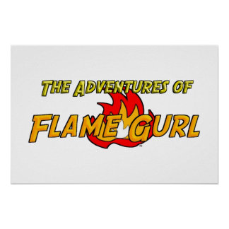 The Adventures of Flame Gurl Poster