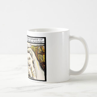 The Adventures of Mr and Mrs Pleasant Coffee Mug