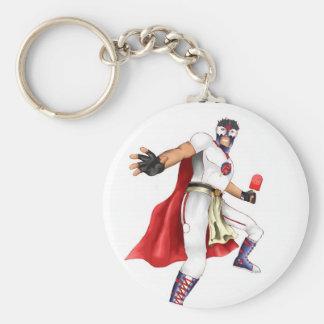 The Adventures of Paleta Man Basic Round Button Key Ring