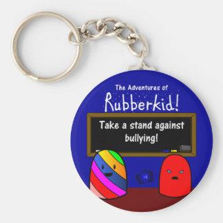 The Adventures of Rubberkid Keychain