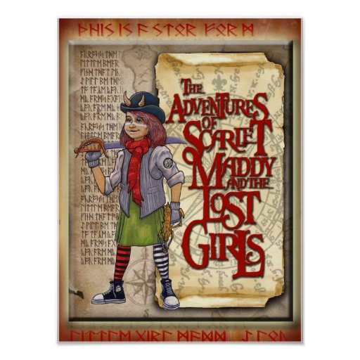The Adventures of Scarlet Maddy Poster