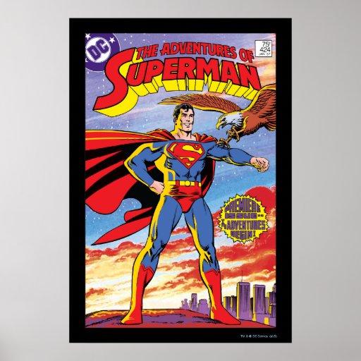 The Adventures of Superman #424 Print