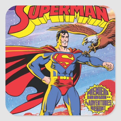 The Adventures of Superman #424 Sticker