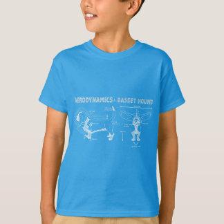 The Aerodynamics of a Basset Hound T Shirt