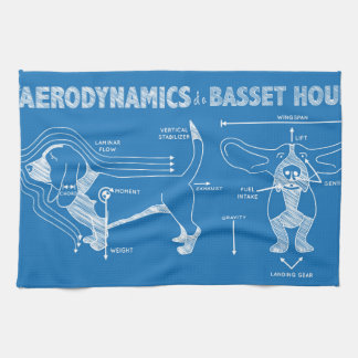 The Aerodynamics of a Basset Hound Tea Towel