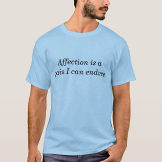 The Affection t-shirt
