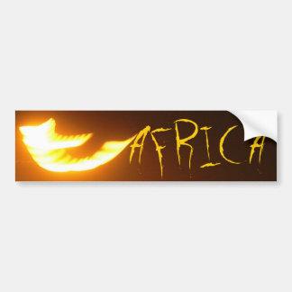 The Africa Bumper Sticker