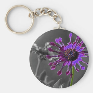 The African Daisy Key Chain