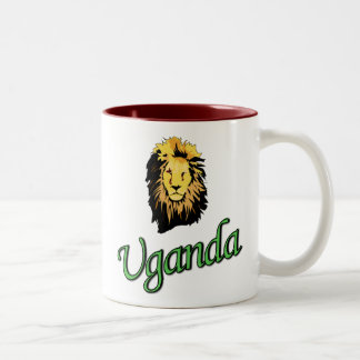 The African Lion Two-Tone Coffee Mug
