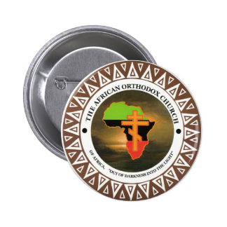 The African Orthodox Church of Africa 6 Cm Round Badge