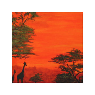 The African Safari Canvas Prints