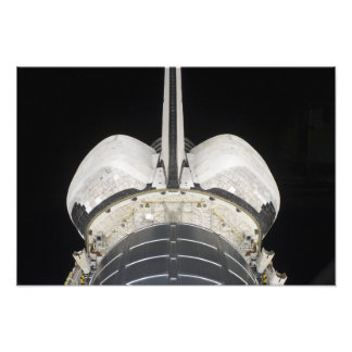 The aft portion of the Space Shuttle Endeavour Photo