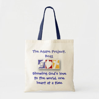 The Agape Project, Boaz Budget Tote Bag