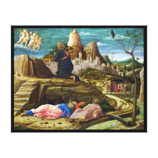 The Agony in the Garden by Andrea Mantegna Gallery Wrap Canvas