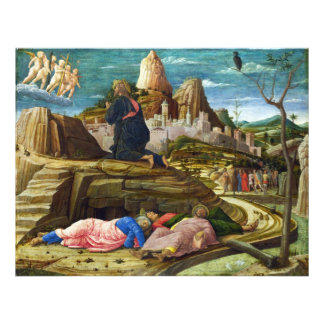 The Agony in the Garden by Andrea Mantegna Photographic Print