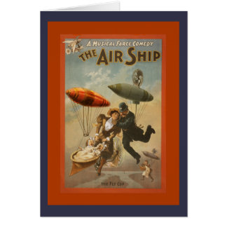 The Air Ship Comedy Card