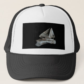 """The Alabaster Sailboat"" Trucker Hat"