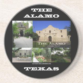 The Alamo Collage Beverage Coaster