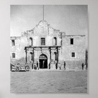 The Alamo in San Antonio, TX  1 Poster