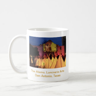 The Alamo Luminaria Arts San Antonio Texas Coffee Mugs
