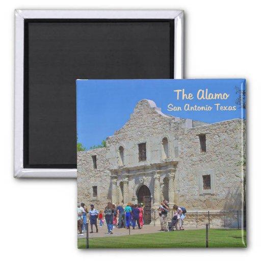 The Alamo San Antonio Texas Refrigerator Magnet
