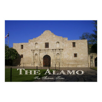 The Alamo, San Antonio Texas Poster