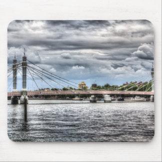 The Albert Bridge London Mouse Pads
