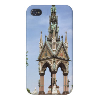 The Albert Memorial from the Albert Hall Covers For iPhone 4