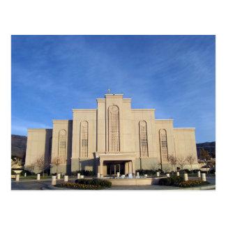 The Albuquerque New Mexico LDS Temple Postcard