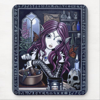"""The Alchemist"" Gothic Magic Fairy Mouspad Mouse Pad"