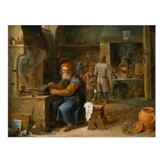 The Alchemist Postcard