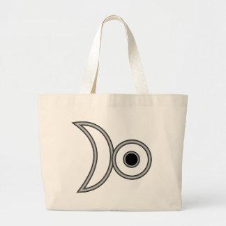 The Alchemist Symbol for Platinum Large Tote Bag