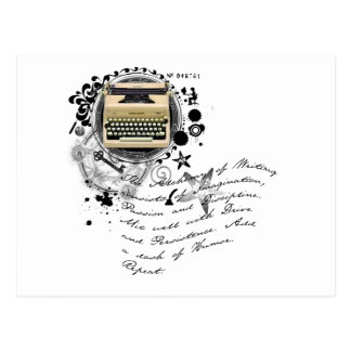 The Alchemy of Writing Postcard