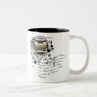 The Alchemy of Writing Two-Tone Coffee Mug