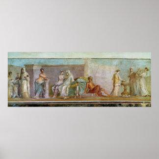 The Aldobrandini Wedding, 27 BC-14 AD Poster