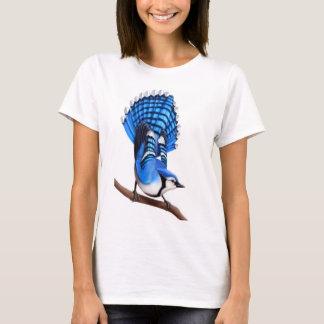 The Alert Blue Jay Bird Shirt