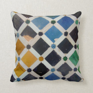 The Alhambra Andalusia Spain Cushion