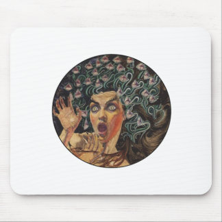 THE ALLURING STARE MOUSE PAD