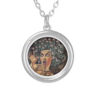 THE ALLURING STARE SILVER PLATED NECKLACE