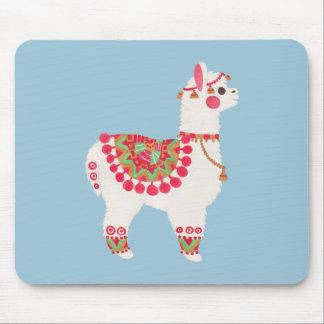The Alpaca Mouse Pad