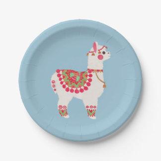 The Alpaca Paper Plate