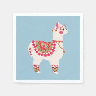 The Alpaca Paper Serviettes
