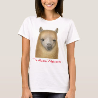 The Alpaca Whisperer Ladies T-Shirt