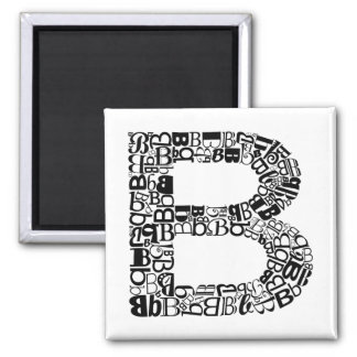 The Alphabet Letter B Magnet