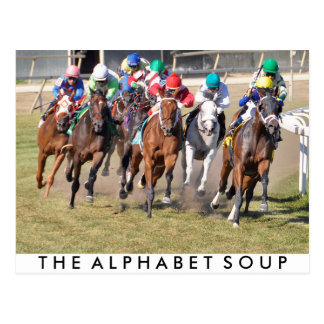 The Alphabet Soup Postcard