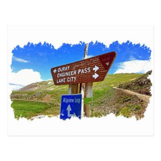 The Alpine Loop Postcard