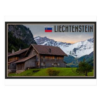 The Alps of Liechtenstein Postcard