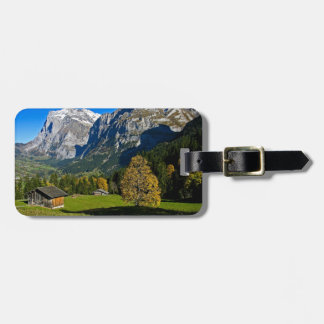 The Alps, Switzerland Luggage Tag