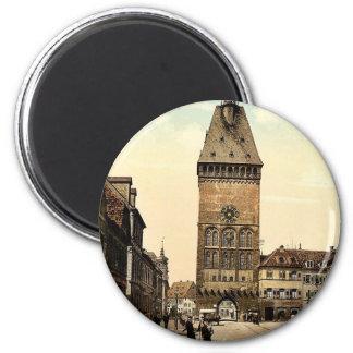 The Altportel, Speyer, the Rhine, Germany rare Pho 6 Cm Round Magnet