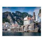 The Amalfi Coast from the Sea Postcard